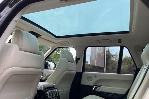 Land Rover Range Rover TDV6 VOGUE SE- EURO 6 / ULEZ READY - ALL BLACK + IVORY LEATHER -DIGITAL TV 30