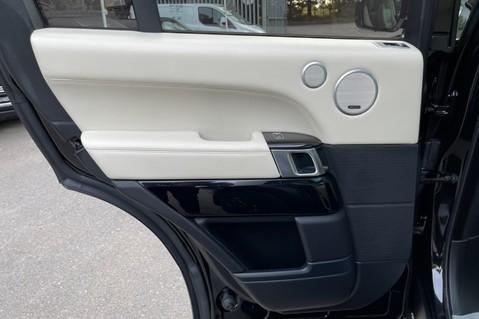Land Rover Range Rover TDV6 VOGUE SE- EURO 6 / ULEZ READY - ALL BLACK + IVORY LEATHER -DIGITAL TV 32