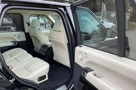 Land Rover Range Rover TDV6 VOGUE SE- EURO 6 / ULEZ READY - ALL BLACK + IVORY LEATHER -DIGITAL TV 34