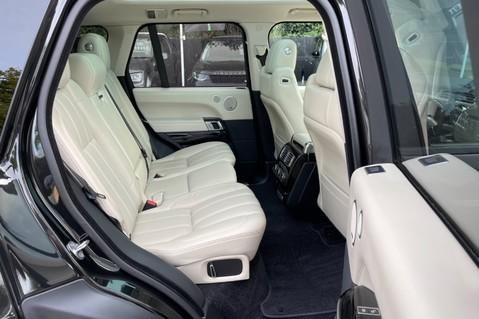Land Rover Range Rover TDV6 VOGUE SE- EURO 6 / ULEZ READY - ALL BLACK + IVORY LEATHER -DIGITAL TV 35