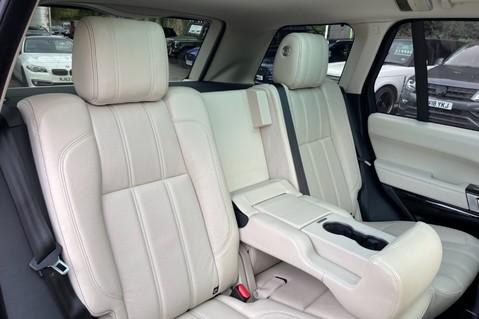 Land Rover Range Rover TDV6 VOGUE SE- EURO 6 / ULEZ READY - ALL BLACK + IVORY LEATHER -DIGITAL TV 37
