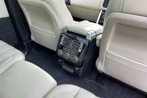 Land Rover Range Rover TDV6 VOGUE SE- EURO 6 / ULEZ READY - ALL BLACK + IVORY LEATHER -DIGITAL TV 39