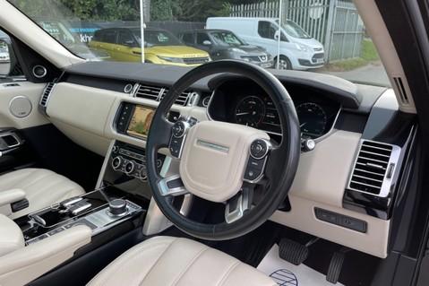Land Rover Range Rover TDV6 VOGUE SE- EURO 6 / ULEZ READY - ALL BLACK + IVORY LEATHER -DIGITAL TV 42