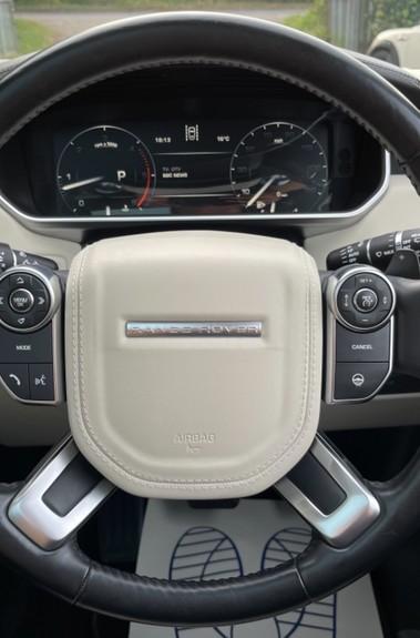 Land Rover Range Rover TDV6 VOGUE SE- EURO 6 / ULEZ READY - ALL BLACK + IVORY LEATHER -DIGITAL TV