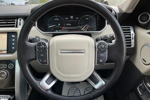 Land Rover Range Rover TDV6 VOGUE SE- EURO 6 / ULEZ READY - ALL BLACK + IVORY LEATHER -DIGITAL TV 47