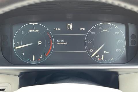 Land Rover Range Rover TDV6 VOGUE SE- EURO 6 / ULEZ READY - ALL BLACK + IVORY LEATHER -DIGITAL TV 50