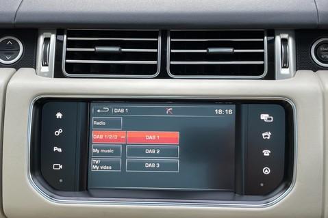 Land Rover Range Rover TDV6 VOGUE SE- EURO 6 / ULEZ READY - ALL BLACK + IVORY LEATHER -DIGITAL TV 57