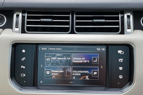Land Rover Range Rover TDV6 VOGUE SE- EURO 6 / ULEZ READY - ALL BLACK + IVORY LEATHER -DIGITAL TV 61