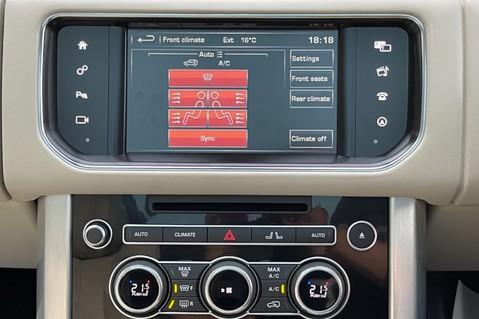 Land Rover Range Rover TDV6 VOGUE SE- EURO 6 / ULEZ READY - ALL BLACK + IVORY LEATHER -DIGITAL TV 62