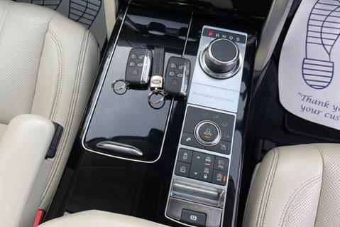 Land Rover Range Rover TDV6 VOGUE SE- EURO 6 / ULEZ READY - ALL BLACK + IVORY LEATHER -DIGITAL TV 64