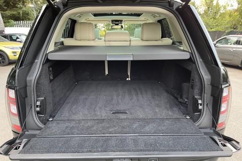 Land Rover Range Rover TDV6 VOGUE SE- EURO 6 / ULEZ READY - ALL BLACK + IVORY LEATHER -DIGITAL TV 69