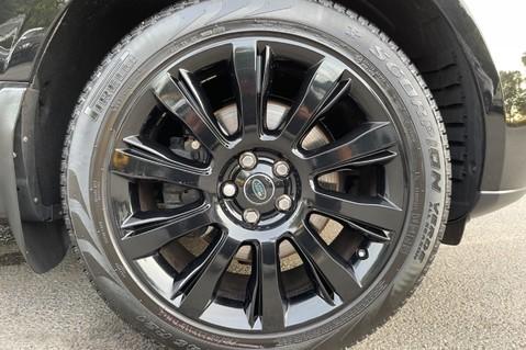 Land Rover Range Rover TDV6 VOGUE SE- EURO 6 / ULEZ READY - ALL BLACK + IVORY LEATHER -DIGITAL TV 78