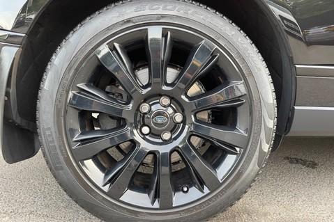 Land Rover Range Rover TDV6 VOGUE SE- EURO 6 / ULEZ READY - ALL BLACK + IVORY LEATHER -DIGITAL TV 79