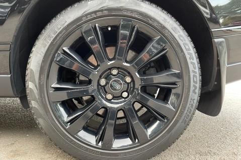 Land Rover Range Rover TDV6 VOGUE SE- EURO 6 / ULEZ READY - ALL BLACK + IVORY LEATHER -DIGITAL TV 80