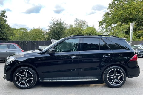 Mercedes-Benz Gle GLE 350 D 4MATIC AMG LINE PREMIUM PLUS -ONE OWNER FROM NEW -PAN ROOF- FMBSH 8