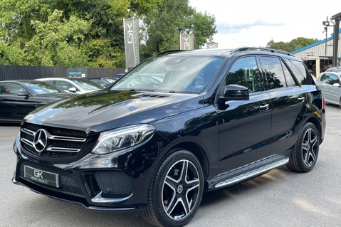 Mercedes-Benz Gle GLE 350 D 4MATIC AMG LINE PREMIUM PLUS -ONE OWNER FROM NEW -PAN ROOF- FMBSH 9