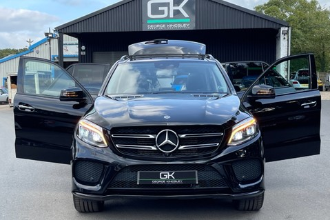 Mercedes-Benz Gle GLE 350 D 4MATIC AMG LINE PREMIUM PLUS -ONE OWNER FROM NEW -PAN ROOF- FMBSH 14