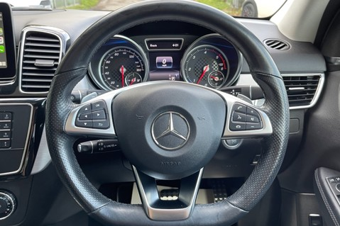 Mercedes-Benz Gle GLE 350 D 4MATIC AMG LINE PREMIUM PLUS -ONE OWNER FROM NEW -PAN ROOF- FMBSH 48