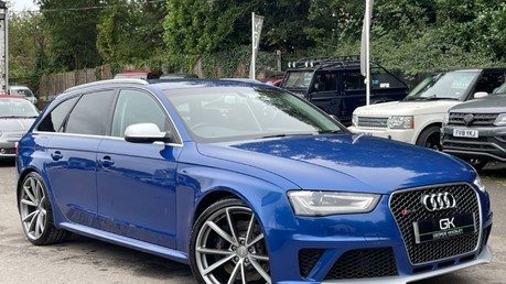 Audi RS4 RS4 AVANT FSI QUATTRO - £9k WORTH OF EXTRAS - BUCKET SEATS - SPORTS PACKAGE Video