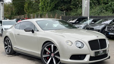 Bentley Continental GT GT V8 S - MULLINER - BESPOKE PEARL WHITE SAND -IVORY CHOCOLATE Video