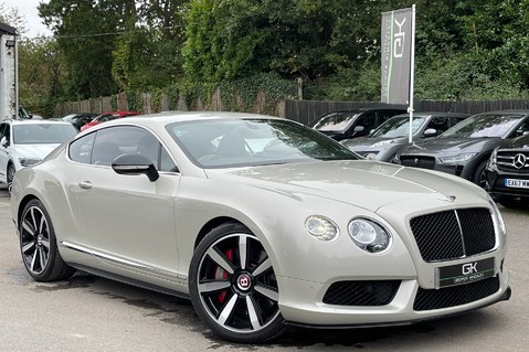 Bentley Continental GT GT V8 S - MULLINER - BESPOKE PEARL WHITE SAND -IVORY CHOCOLATE 1