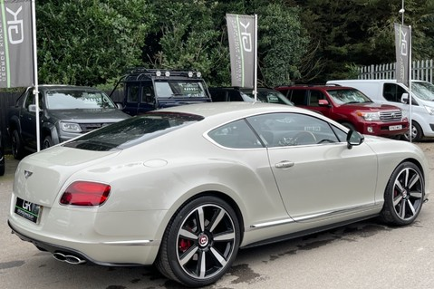 Bentley Continental GT GT V8 S - MULLINER - BESPOKE PEARL WHITE SAND -IVORY CHOCOLATE 5