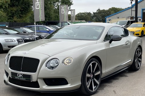 Bentley Continental GT GT V8 S - MULLINER - BESPOKE PEARL WHITE SAND -IVORY CHOCOLATE 8
