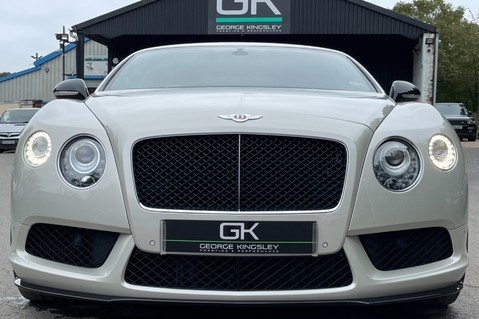Bentley Continental GT GT V8 S - MULLINER - BESPOKE PEARL WHITE SAND -IVORY CHOCOLATE 9
