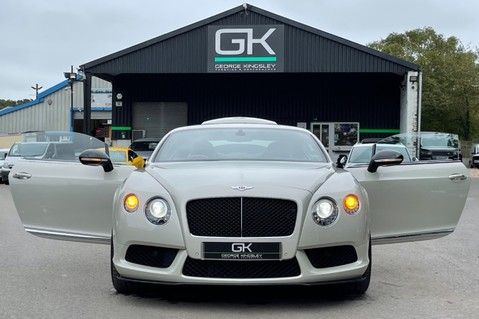 Bentley Continental GT GT V8 S - MULLINER - BESPOKE PEARL WHITE SAND -IVORY CHOCOLATE 17