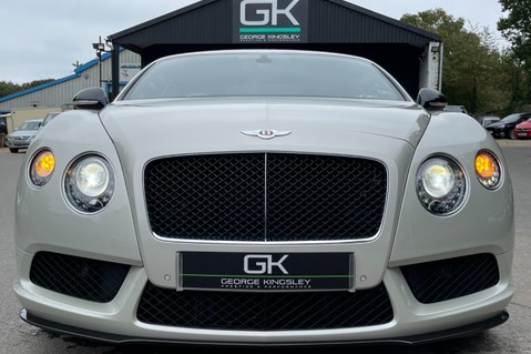 Bentley Continental GT GT V8 S - MULLINER - BESPOKE PEARL WHITE SAND -IVORY CHOCOLATE 20