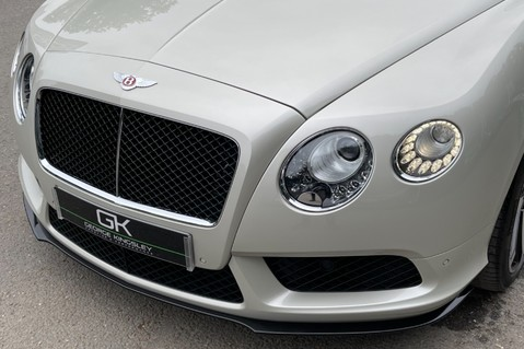 Bentley Continental GT GT V8 S - MULLINER - BESPOKE PEARL WHITE SAND -IVORY CHOCOLATE 28