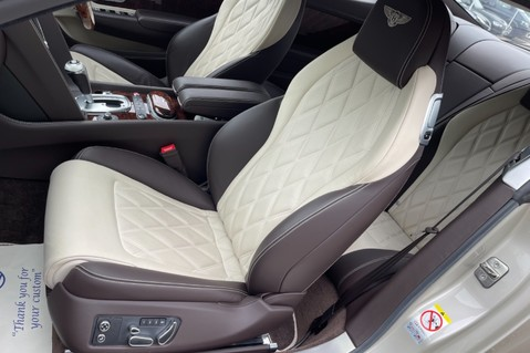 Bentley Continental GT GT V8 S - MULLINER - BESPOKE PEARL WHITE SAND -IVORY CHOCOLATE 2