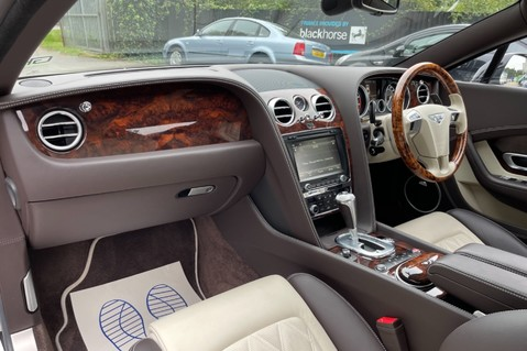 Bentley Continental GT GT V8 S - MULLINER - BESPOKE PEARL WHITE SAND -IVORY CHOCOLATE 11