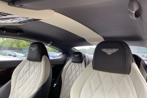 Bentley Continental GT GT V8 S - MULLINER - BESPOKE PEARL WHITE SAND -IVORY CHOCOLATE 35