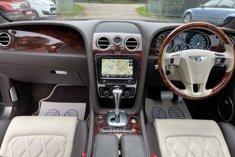 Bentley Continental GT GT V8 S - MULLINER - BESPOKE PEARL WHITE SAND -IVORY CHOCOLATE 10