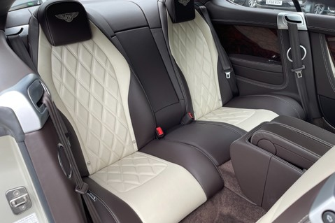 Bentley Continental GT GT V8 S - MULLINER - BESPOKE PEARL WHITE SAND -IVORY CHOCOLATE 13