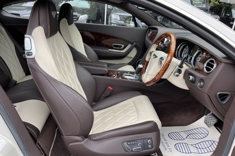 Bentley Continental GT GT V8 S - MULLINER - BESPOKE PEARL WHITE SAND -IVORY CHOCOLATE 12