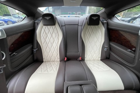Bentley Continental GT GT V8 S - MULLINER - BESPOKE PEARL WHITE SAND -IVORY CHOCOLATE 14