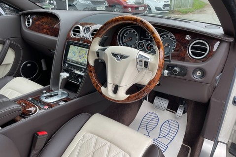 Bentley Continental GT GT V8 S - MULLINER - BESPOKE PEARL WHITE SAND -IVORY CHOCOLATE 41