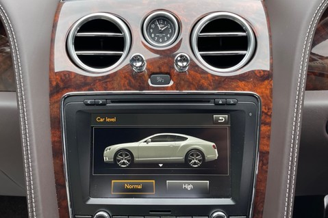 Bentley Continental GT GT V8 S - MULLINER - BESPOKE PEARL WHITE SAND -IVORY CHOCOLATE 48