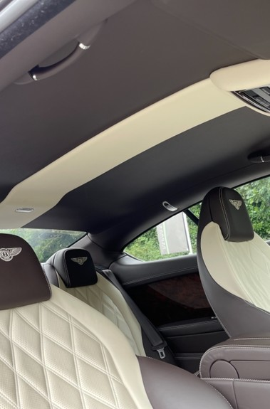 Bentley Continental GT GT V8 S - MULLINER - BESPOKE PEARL WHITE SAND -IVORY CHOCOLATE