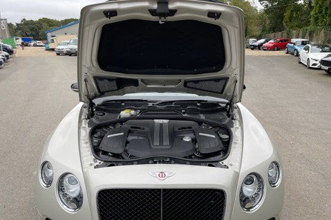 Bentley Continental GT GT V8 S - MULLINER - BESPOKE PEARL WHITE SAND -IVORY CHOCOLATE 66