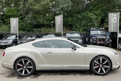 Bentley Continental GT GT V8 S - MULLINER - BESPOKE PEARL WHITE SAND -IVORY CHOCOLATE 4