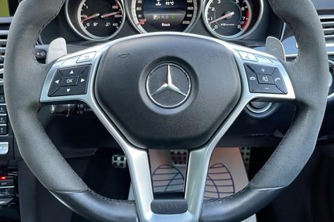 Mercedes-Benz E Class AMG E 63 - MASSAGING SEATS - HARMAN/KARDON SOUND SYSTEM - SAT NAV 63