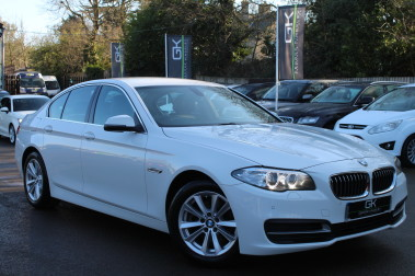 BMW 5 Series 520D SE -PRO SAT NAV - HARMAN/KARDON -DAB - FBMWSH - £20 ROAD TAX - EURO 6