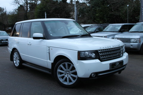 Land Rover Range Rover TDV8 WESTMINSTER - RARE WHITE WITH IVORY LEATHER 1