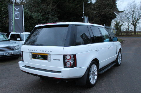 Land Rover Range Rover TDV8 WESTMINSTER - RARE WHITE WITH IVORY LEATHER 4