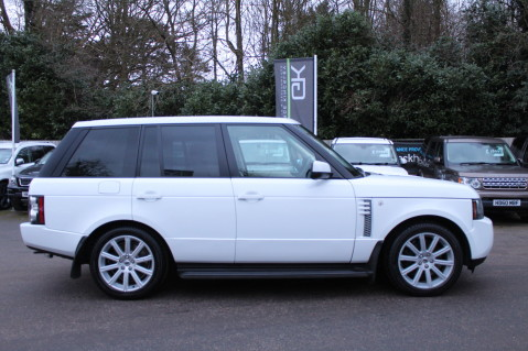 Land Rover Range Rover TDV8 WESTMINSTER - RARE WHITE WITH IVORY LEATHER 5