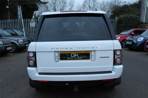 Land Rover Range Rover TDV8 WESTMINSTER - RARE WHITE WITH IVORY LEATHER 6