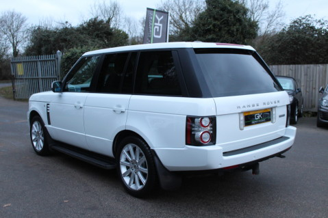 Land Rover Range Rover TDV8 WESTMINSTER - RARE WHITE WITH IVORY LEATHER 3